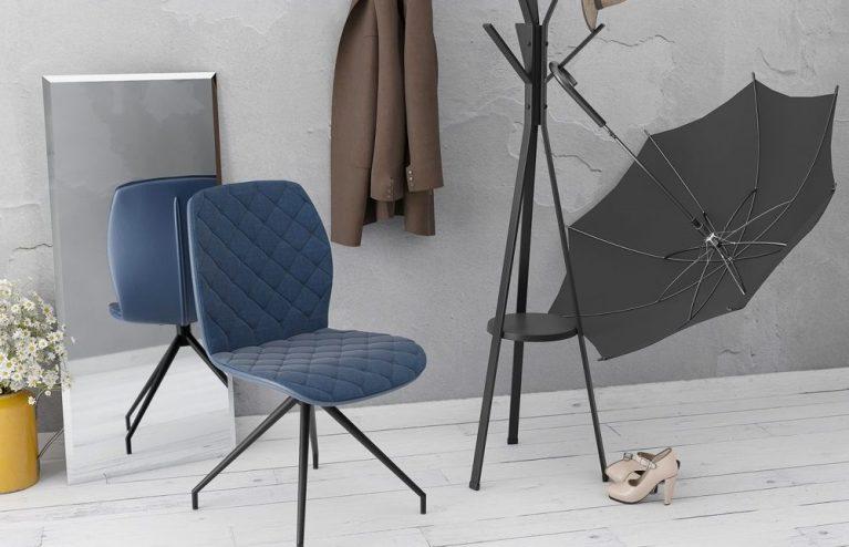 chaise-auguste fixe-bleu-mélange-tissus-et-polyuréthane-ch084bl-1-0