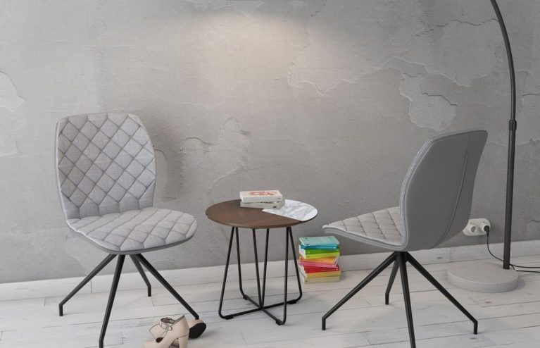chaise-auguste fixe-gris-mélange-tissus-et-polyuréthane-ch084g1-1-0