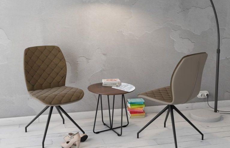 chaise-auguste fixe-taupe-mélange-tissus-et-polyuréthane-ch084m2-1-0